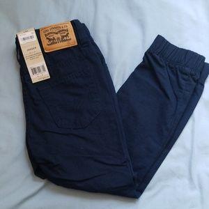 Boys Levi's Jogger size 6 Navy Blue